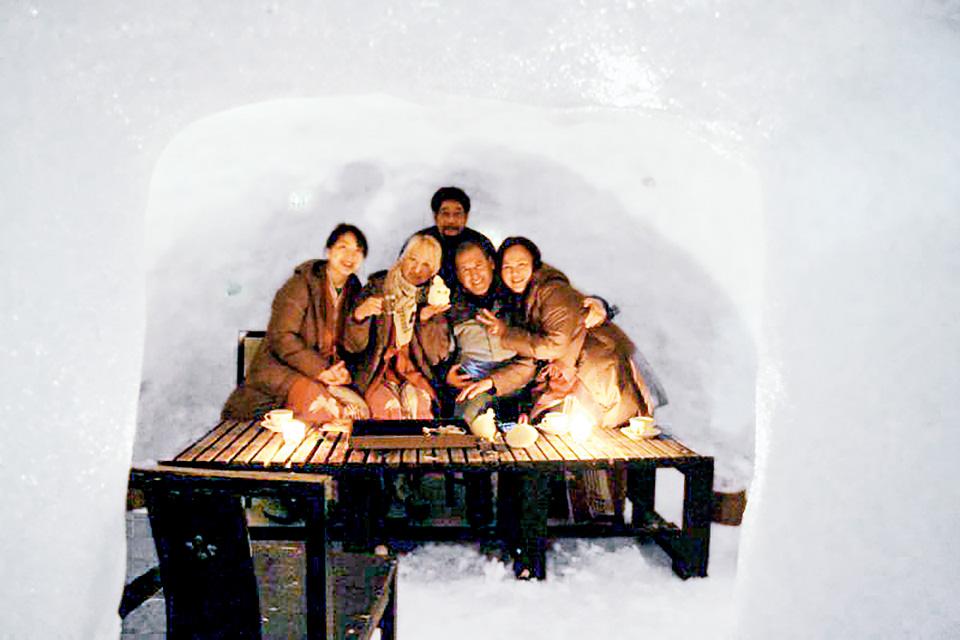Experience a kamakura snow hut
