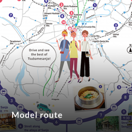 Model route